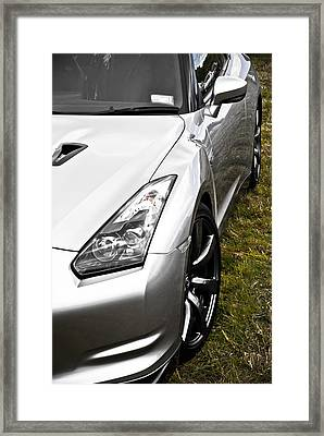 Nissan Gtr Framed Print by Phil 'motography' Clark