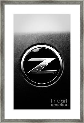Nissan Z Framed Print by Jt PhotoDesign