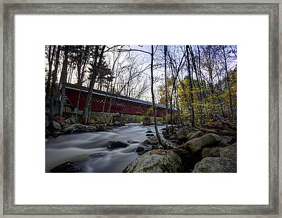 Nissitissit Bridge Framed Print