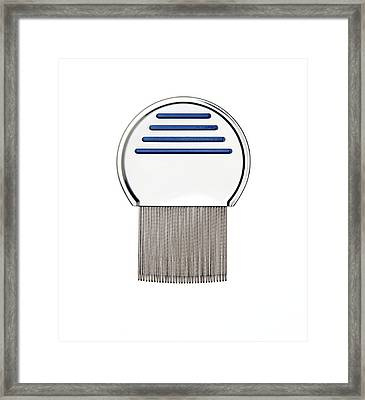 Nit Comb For Removing Headlice From Hair Framed Print