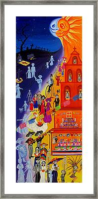 Nite And Day Procession Framed Print