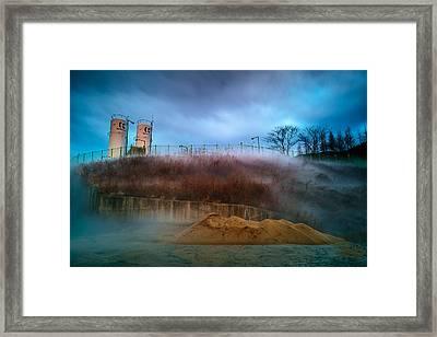 Nitrogen Fog Framed Print