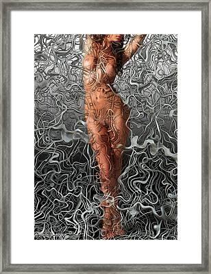 Niu Xii.  2012  80/56cm.  Framed Print by Tautvydas Davainis