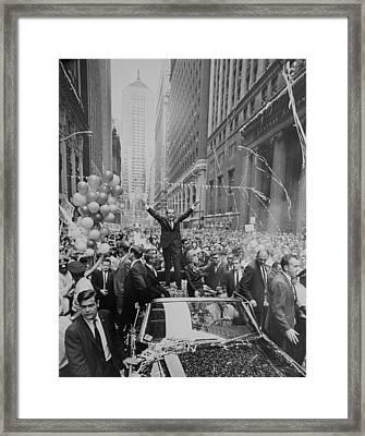 Nixon 1968 Presidential Campaign Framed Print by Everett
