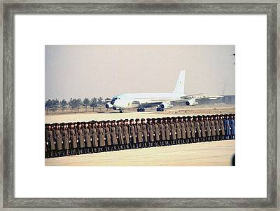 Nixon In China. The Spirit Of 76 As Air Framed Print