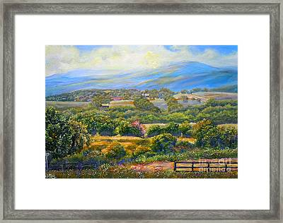 Nixon's A Scenic View On Jacksontown Road 2 Framed Print