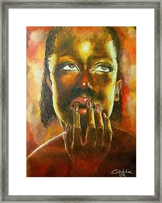 Nkosazana Framed Print
