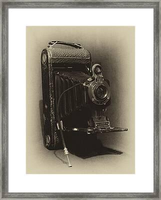 No. 1-a Kodak Jr. Framed Print by Leah Palmer