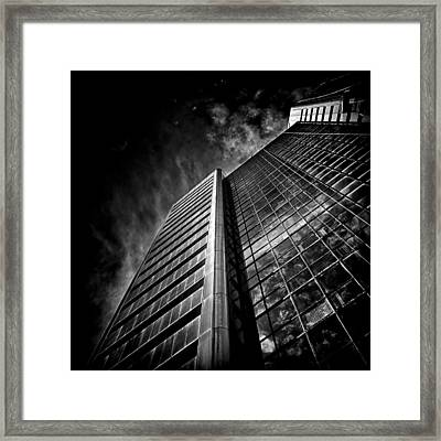No 123 Front St W Toronto Canada Framed Print