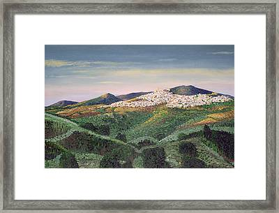 No. 127, 1992 Oil On Canvas Framed Print by Trevor Neal
