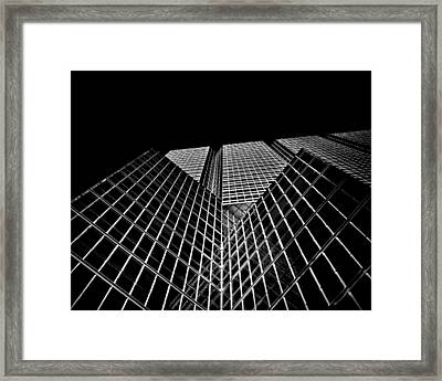 No 150 King St W Toronto Canada Framed Print by Brian Carson