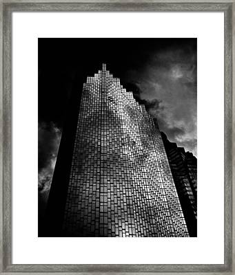 No 200 Bay St Rbp South Tower Toronto Canada Framed Print by Brian Carson