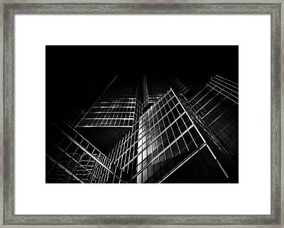 No 200 King St W Toronto Canada Framed Print by Brian Carson
