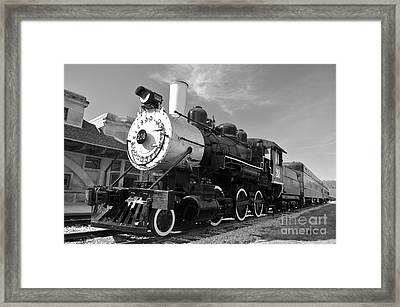 No. 208 To French Lick Framed Print by Charles Trinkle