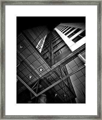 No 225 King Street West David Pecaut Square Toronto Canada Framed Print by Brian Carson