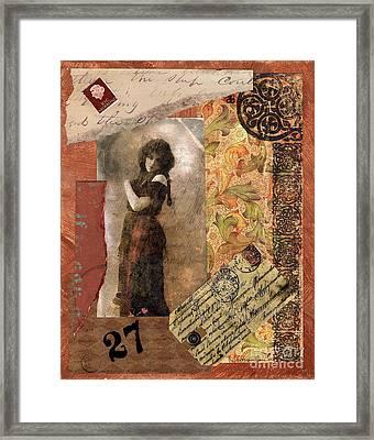 No 27 Lady Framed Print by Tamyra Crossley