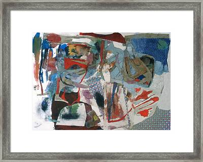 No 3 In A Series Of Assemblages Framed Print