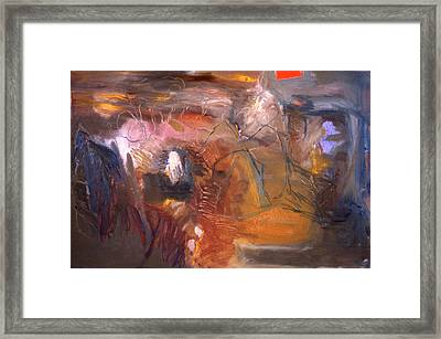 No 3 In A Series Of Human Landscapes Framed Print