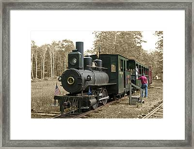 No 4 Framed Print
