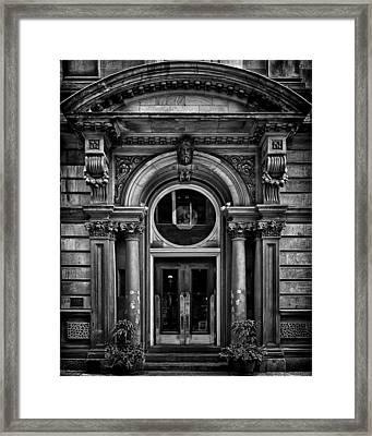 No 49 Yonge St Toronto Canada Framed Print by Brian Carson