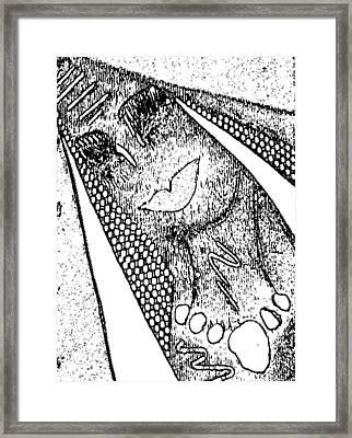 I Am A Winner 5 Framed Print by Tetka Rhu