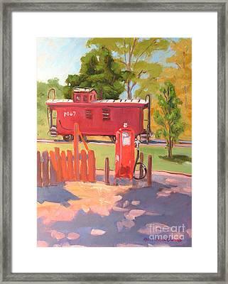No. 7 Framed Print by Rhett Regina Owings