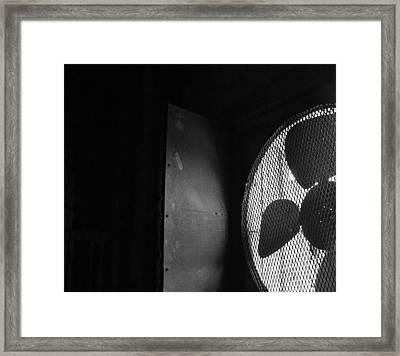 No A/c Bw Framed Print by Elizabeth Sullivan