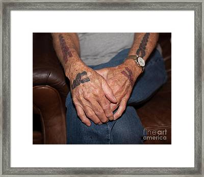 Framed Print featuring the photograph No Age Limit by Roselynne Broussard