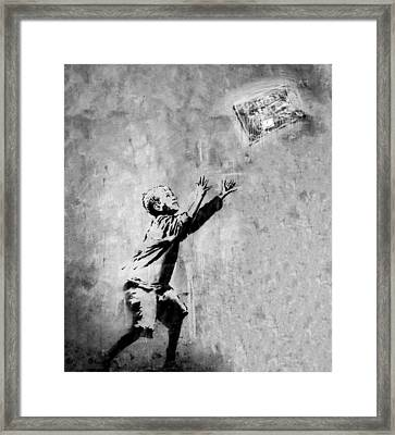 No Ball Games  Framed Print by A Rey