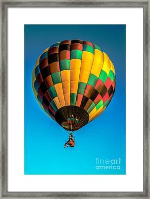 No Basket Ride Framed Print by Robert Bales