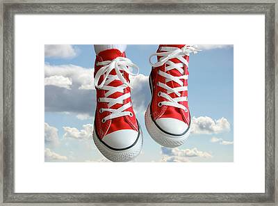 No Care In The World Framed Print by Gianfranco Weiss