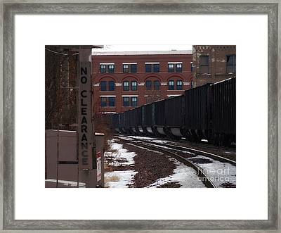 No Clearance - 1 Framed Print by David Blank