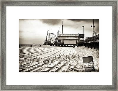 No Crowds Framed Print by John Rizzuto