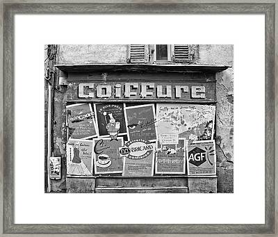 No Cuts Today Framed Print