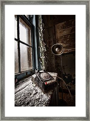 No Dial Tone Framed Print