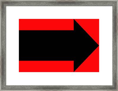 No Direction 5 Framed Print by Mike McGlothlen