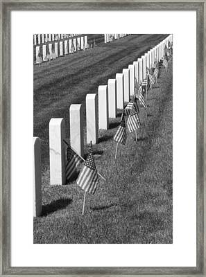 No End In Sight Framed Print
