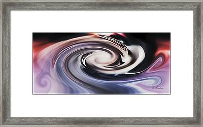 No Escape From The Black Hole Framed Print