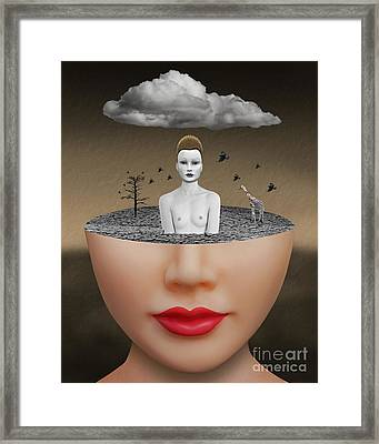 No Escape Framed Print by Keith Dillon
