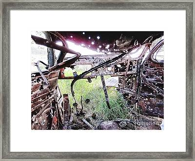 No Escape Framed Print by Roger Gelvick