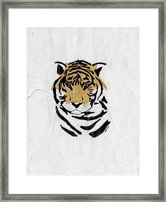 Framed Print featuring the painting No Escape by Stephanie Grant