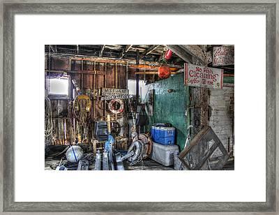 No Fish Cleaning Framed Print by Lynn Jordan