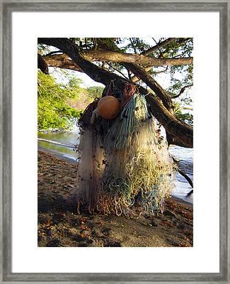 No Fishing Today Ometepe Island Nicaragua Framed Print by Kurt Van Wagner