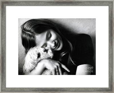 No Greater Love Framed Print by Madeline Ellis