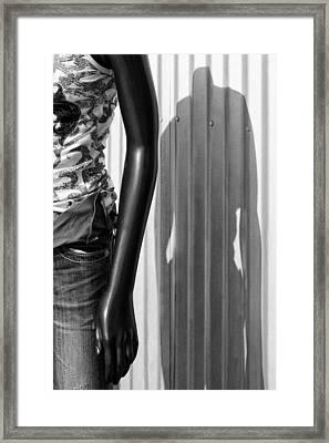 No Head For Fashion Framed Print