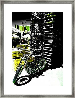 No Heels Framed Print by Steve Taylor