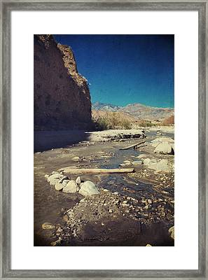 No I Didn't Falter Framed Print