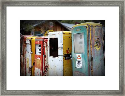 No Lead Framed Print