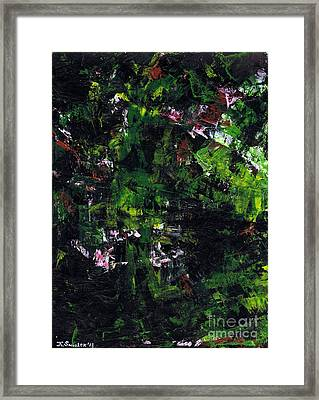 No Leaf Clover - Left  Framed Print by Kamil Swiatek