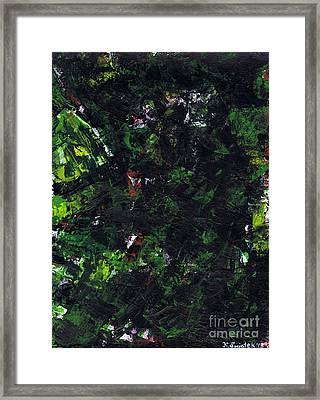 No Leaf Clover - Right Framed Print by Kamil Swiatek